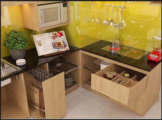 3 loại phụ kiện bếp thông minh cần thiết cho tủ bếp hiện đại