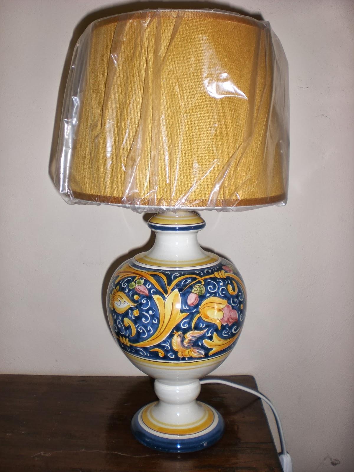 Famoso Ceramica e Dintorni: Lampade e Abat Jour! WQ25