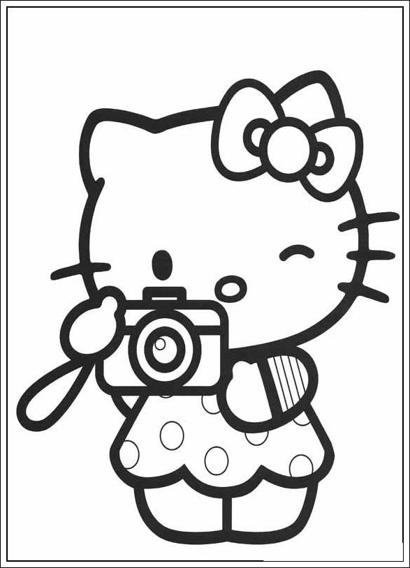 ausmalbilder von hello kitty zum ausdrucken