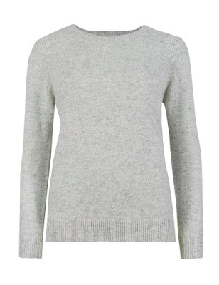 Marks and Spencer Pure Lambswool Round Neck Jumper
