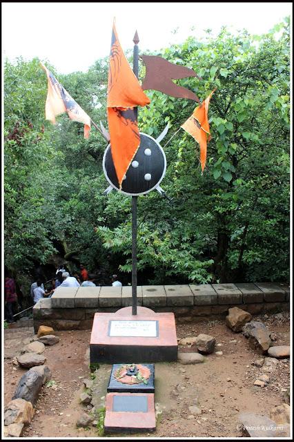 Pawankhind memorial