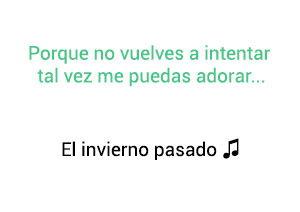 Jorge Celedón El Invierno Pasado significado de la canción.