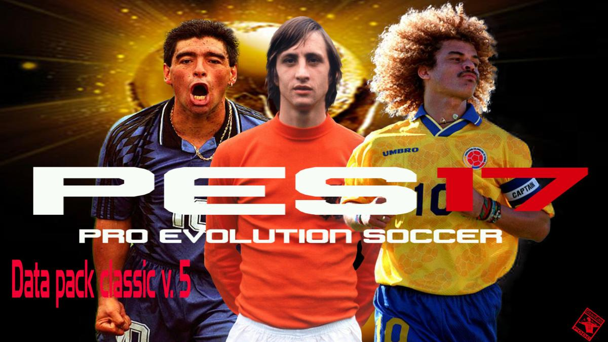 PES 2017 Final Version Data Pack Classic – Fix with