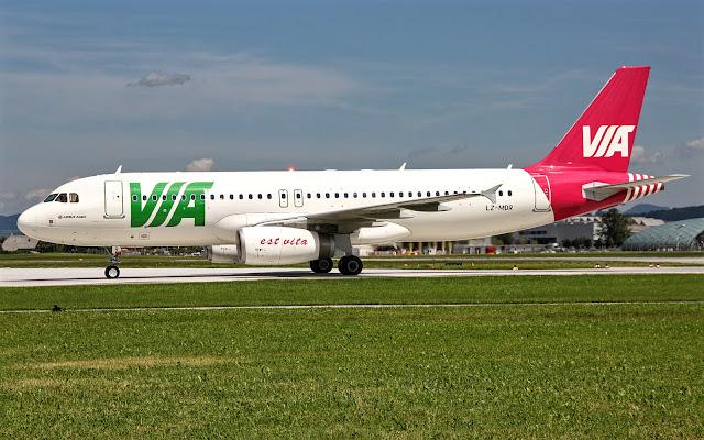 a320-200 via airways