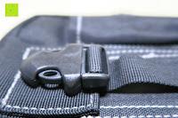 Klickverschluss: Taktische Hüfttaschen , Sahara Sailor EDC Molle Tasche Nylon Gürteltasche für Wandern, Outdoor-Camping und Radfahren mit Aluminiumkarabiner