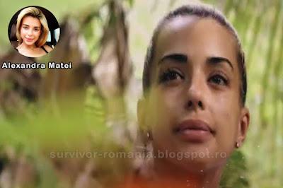 Concurenta Alexandra Matei în show-ul Supraviețuitorul