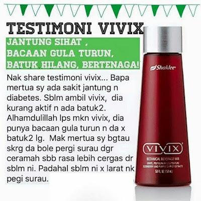 Vivix, Shaklee, antioksidan, antipenuaan, rahsia awet muda, rahsia kulit cantik, cara mencegah kanser, cara sembuhkan luka pembedahan, cara sembuhkan luka selepas bersalin, testimoni Vivix, kencing manis, sakit jantung,