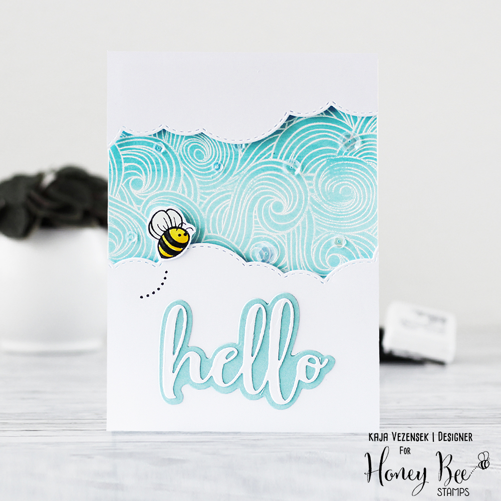 Emboss resist | HONEY BEE