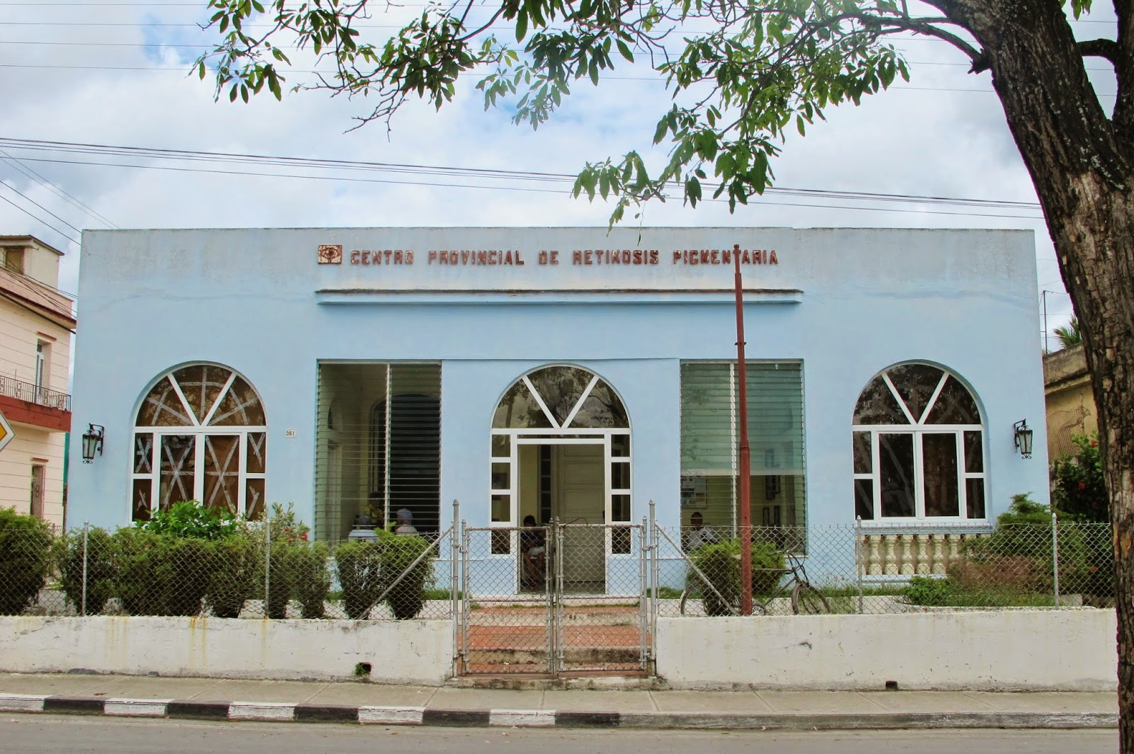 Centro de Saúde em Sanctu Spiritus, na região central de Cuba.