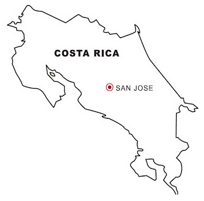costa rica and coloring pages - photo#34