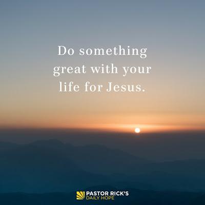 Four Decisions That Determine Your Destiny by Rick Warren