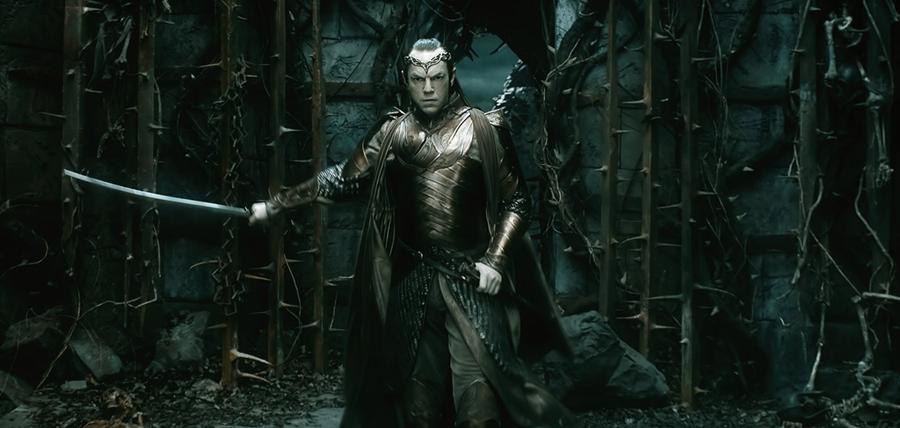 Lord Elrond în Hobbitul: Bătălia Celor Cinci Oştiri