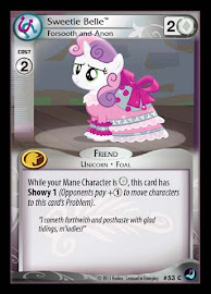 My Little Pony Sweetie Belle, Forsooth and Anon High Magic CCG Card