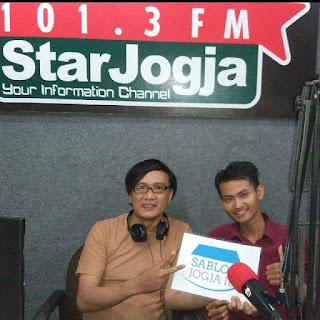 Sablon Jogja ID di Radio