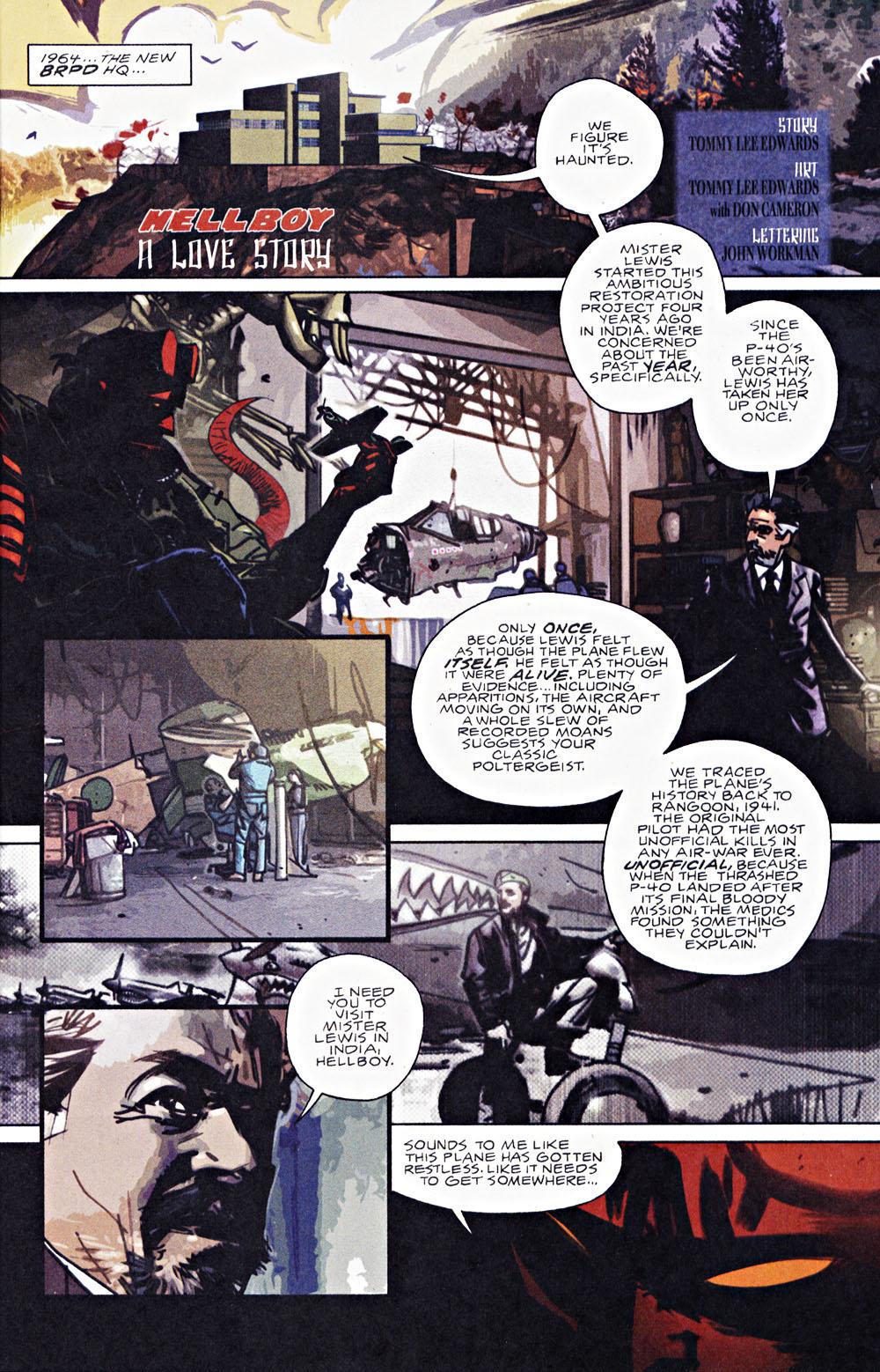 Read online Hellboy: Weird Tales comic -  Issue #7 - 3