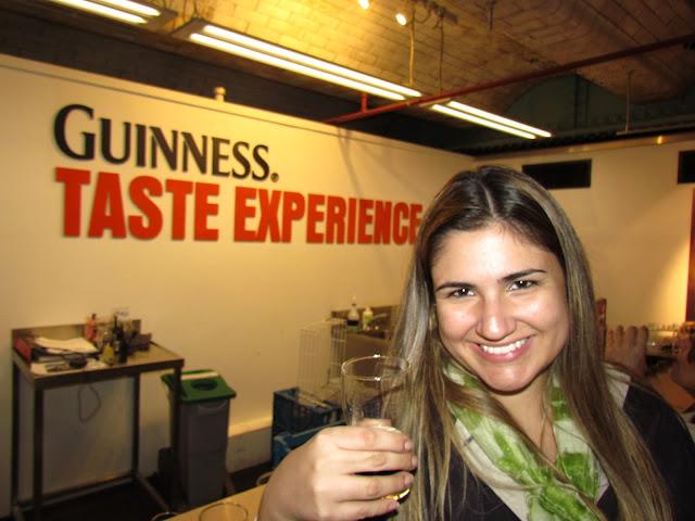 Visita à cervejaria Guinness.