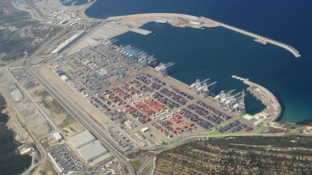 Le port de Tanger bientôt 1er port Africain.