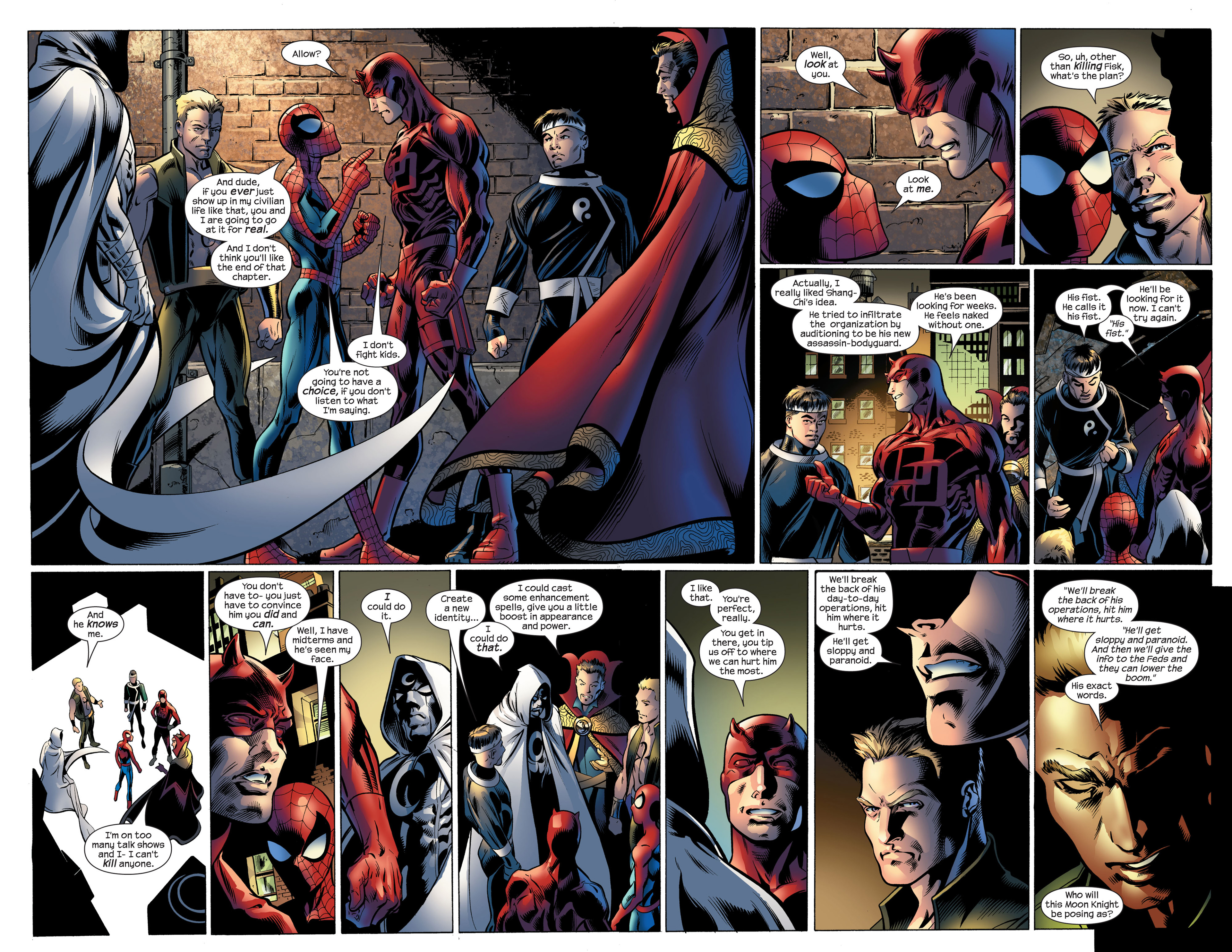Read online Ultimate Spider-Man (2000) comic -  Issue #107 - 17