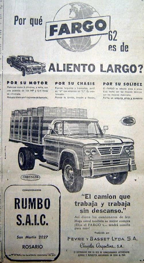 Cami N Argentino Fargo 400 Nafta Diesel