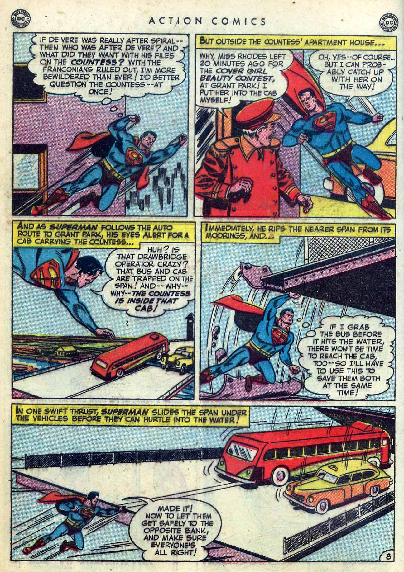 Read online Action Comics (1938) comic -  Issue #155 - 10