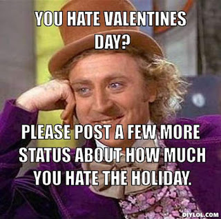 Reason to Hate Valentine's Day