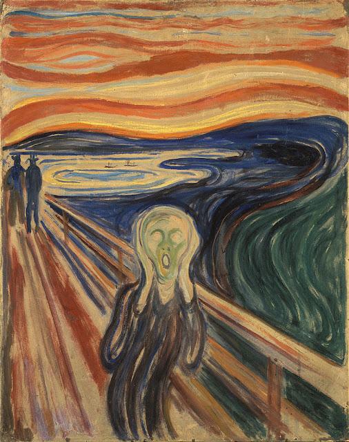 Pintura de Edvard Munch - 1893