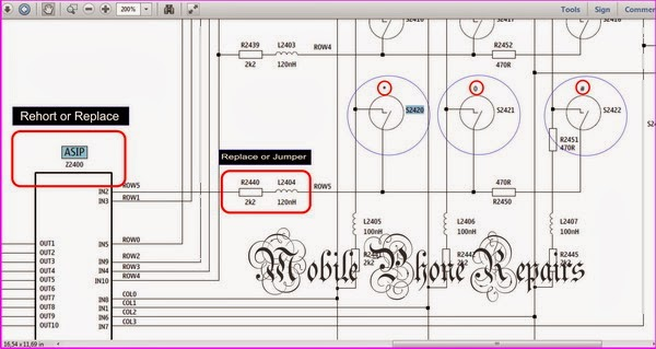 nokia x2 keypad ic diagram