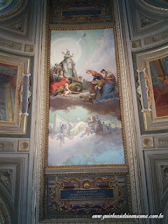 Afresco da Sala dos Candelabros, com Leão XIII