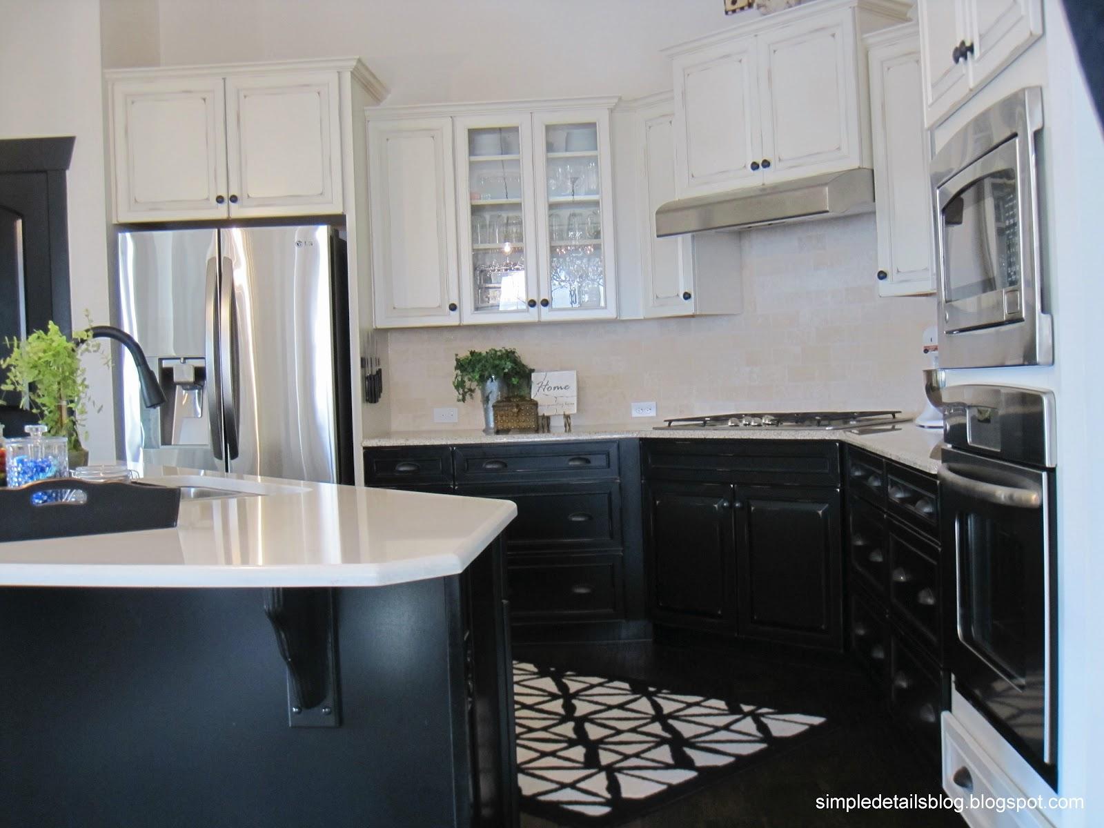 Simple Details: Builder Beige To Black Beauty