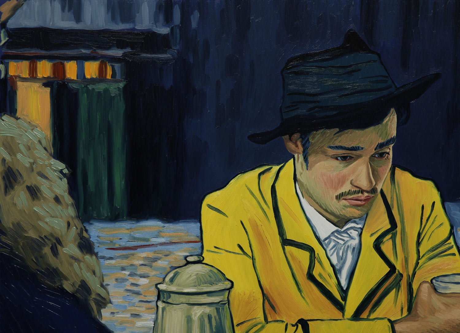 11-Animated Oil Paintings to tell the story of Loving Vincent Van Gogh