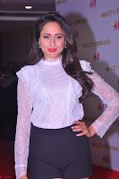 Pragya Jaiswal in lovely Black Mini Skirt and White Transparent Shirt ~  Exclusive 025.JPG