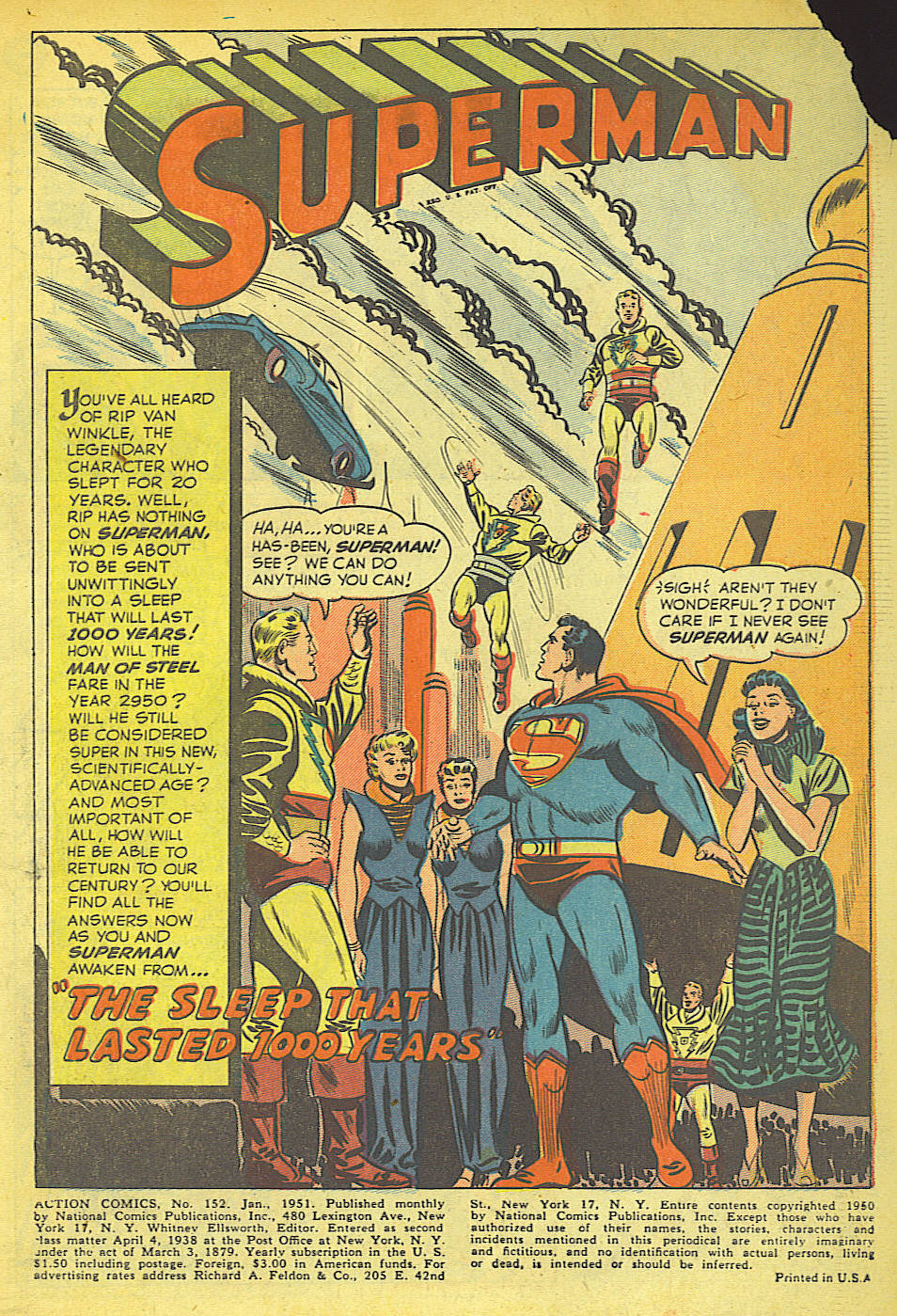 Read online Action Comics (1938) comic -  Issue #152 - 3