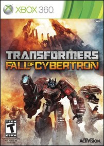 Transformers Fall of Cybertron (X-BOX360) 2012 JTAG