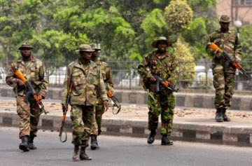Soldiers Protest in Maiduguri Over Killed Colleagues