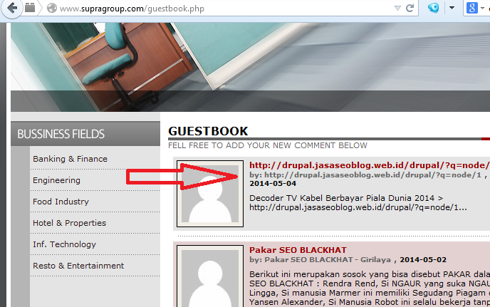 http://www.supragroup.com/guestbook.php