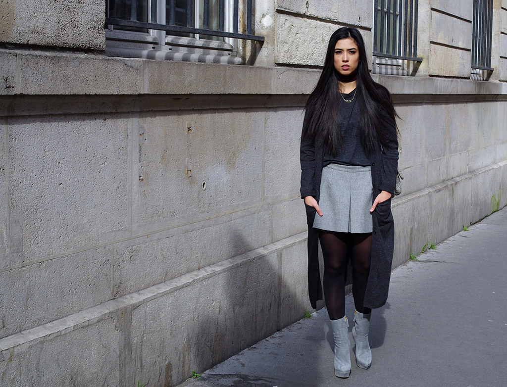 Elizabeth l Shades of grey outfit l THEDEETSONE l http://thedeetsone.blogspot.fr