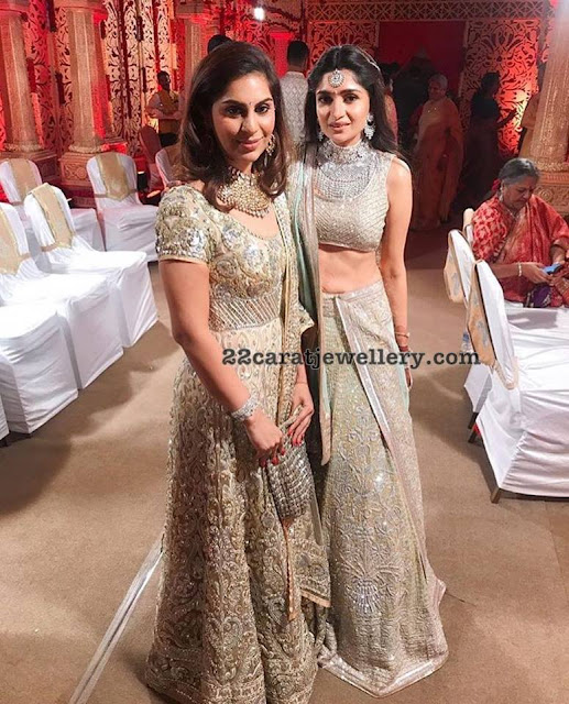 Upasana and Dia Bhupal Diamond Sets
