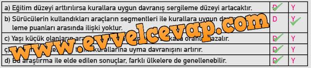 9.Sınıf Sağlık Bilgisi ve Trafik Kültürü MEB Yayınları Ders Kitabı 97.Sayfa Cevapları