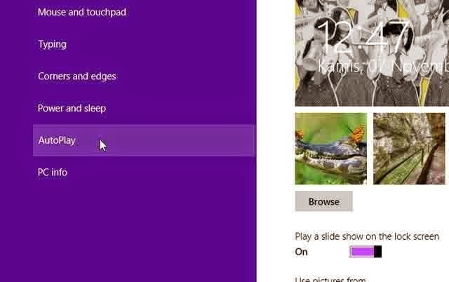 Cara Mengatur AutoPlay di Windows 8.1