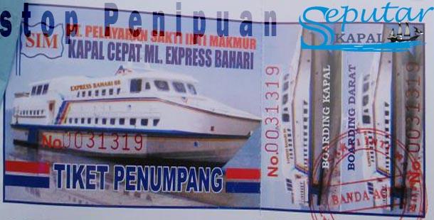 5 Tips Aman Pembelian Tiket Kapal Laut Agar Tidak Kena Tipu