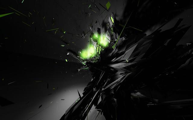 Black Dark Windows Wallpaper HD | High Resolution