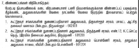 Tiruvallur District Ration Shop Recruitment 2017-2018