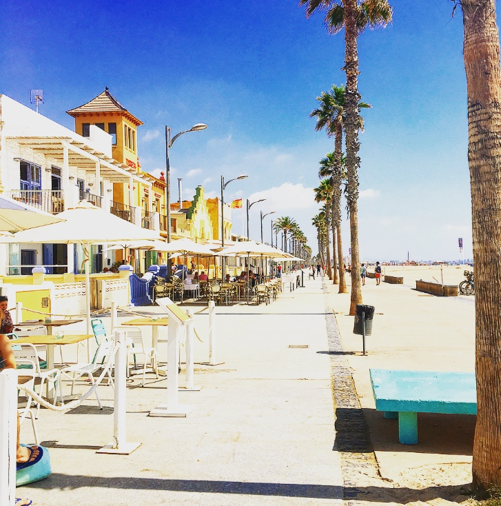 valencia playa malvorassa