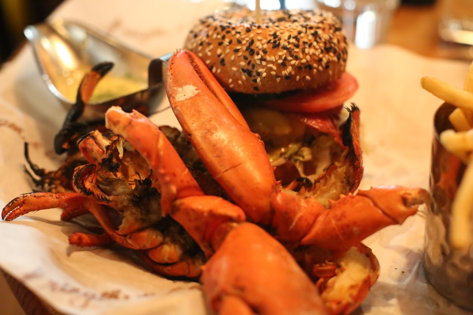 burger and lobster restaurant