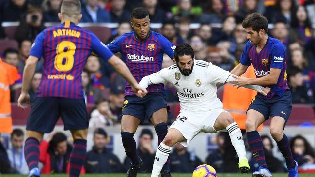 Undian Copa Del Rey Team Barcelona Bertemu Dengan Real Madrid Berpeluang Terjadi