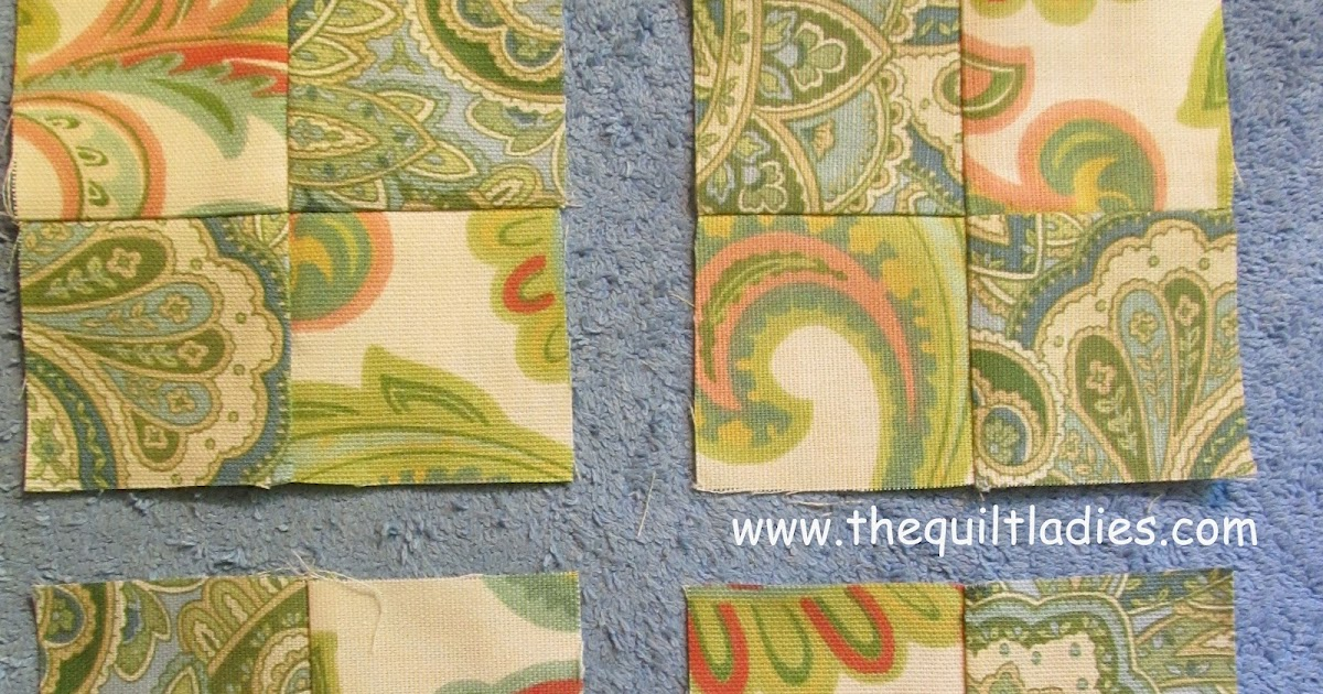 The Quilt Ladies Book Collection: How to make a Quilt Pieced Pillow Pattern