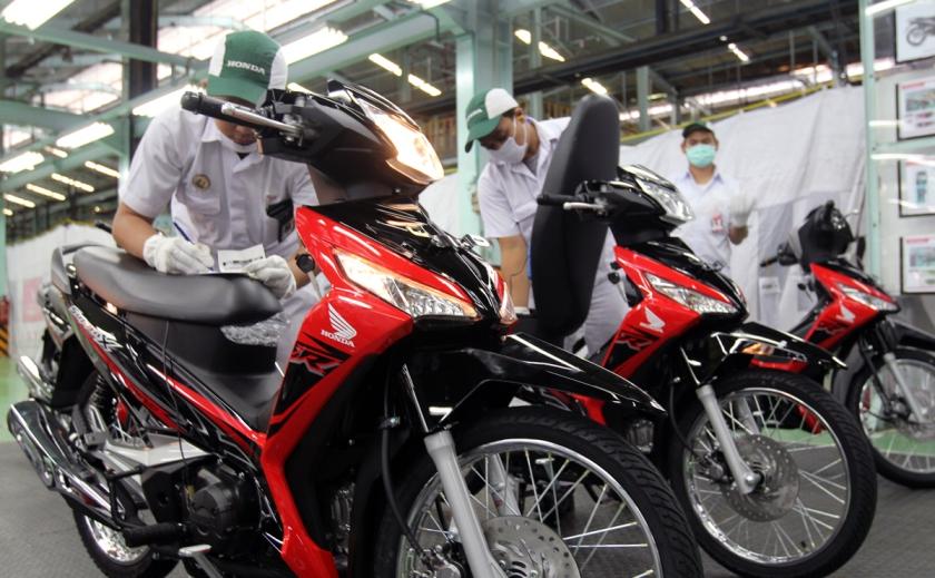 Pilihan Warna Baru Honda Supra-X 2018