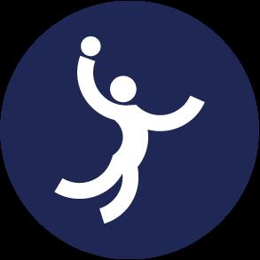 Icon Logo Bola TanganAsian Games 2018
