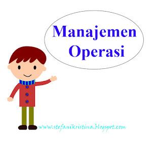 Apa itu manajemen operasi?