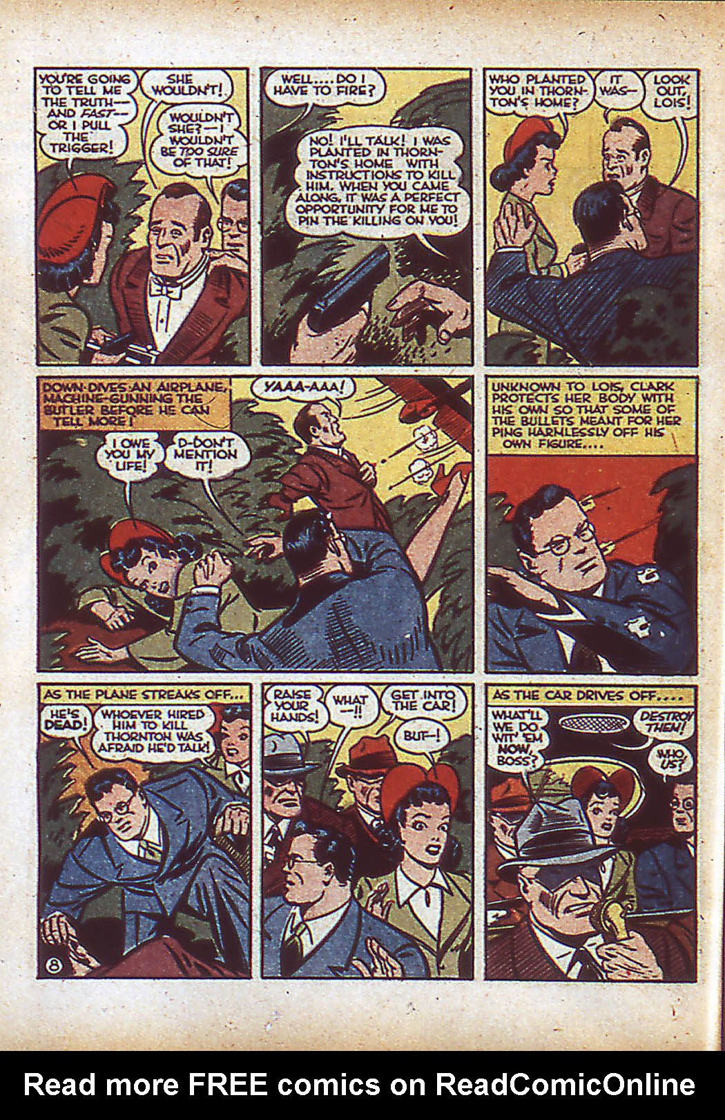 Read online Action Comics (1938) comic -  Issue #43 - 10
